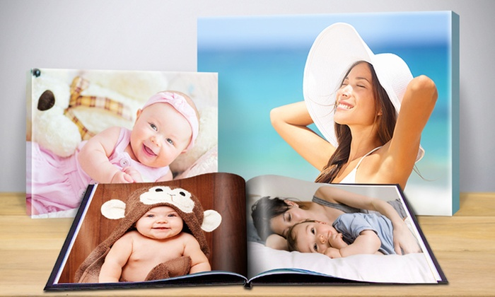 Photo Books, Canvases, Calendars and Printed Accessories: $17 for $70 Worth of Personalized Photo Books, Calendars, and Printed Accessories from Printerpix