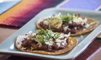 Menú mexicano para 2 o 4 con entrante, principal, postre, bebida y opción a margarita desde 19,95 € en Xólotl