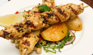 Kritamos Hellenic Cuisine: Seven-Course Feast with Wine for Two ($55) or Four People ($105) at Kritamos Hellenic Cuisine (Up to $321 Value)