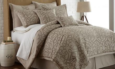 8-Piece Neutral-Color Comforter Set