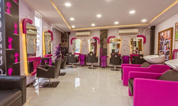 Choice of salon services at panache salon academy 2 for Salon panache