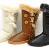 Silver Dew Elegant Genuine Fur Boots