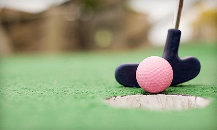 Eko Backen - Chisago Lake: Mini Golf and Caramel-Apple Sundaes for Two, Four, or Six at Eko Backen (Up to 57% Off)
