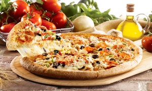 Papa Johns - Olympia: $21.99 for Two Large Pizzas from Papa John's (Up to a $41.98 Value)