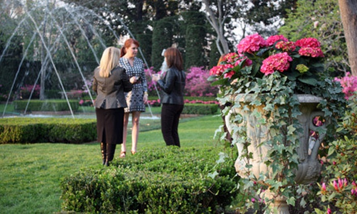Bayou Bend Collection and Gardens - Washington Ave./ Memorial Park: Sip and Stroll Tour for Two, Four, or Six on March 15 or 22 at Bayou Bend Collection and Gardens (Half Off)