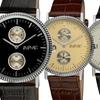 August Steiner Men's Dual Time GMT Watch