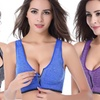 Incredible Endurance Front-Zip Sports Bras (3-Pack)