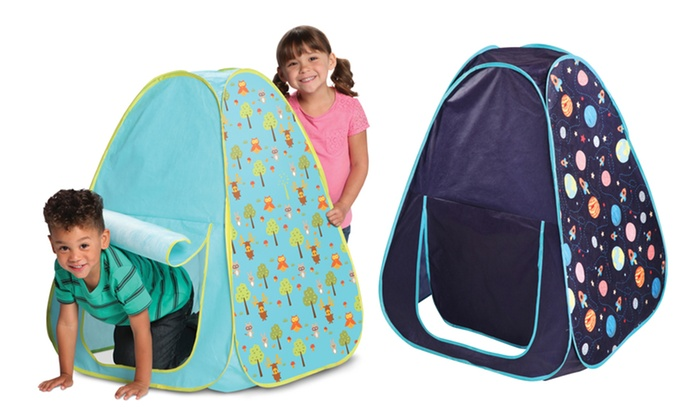 Discovery Kids Pop-Up Space or Woodland Tent  Discovery Kids Pop-Up Space ...  sc 1 st  Groupon & Discovery Kids Pop-Up Tent | Groupon Goods
