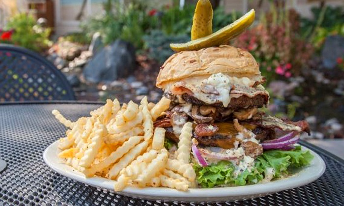 The Lookout Bar and Grill - Brooklyn Park - Maple Grove: Broasted Chicken or Burgers and Beer for Two or Four at The Lookout Bar and Grill (Up to 50% Off)