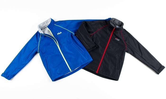 Fila Boys' Softshell Jacket : Fila Boys' Softshell Jacket. Multiple Colors Available. Free Returns.