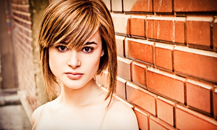 Aretée - Grosse Pointe: $69 for a Haircut, Partial Highlights, and Blow-Dry at Aretée Day Spa ($150 Value)