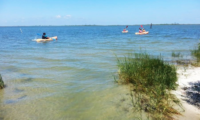 Dauphin Island Kayak & Bicycle Rentals & Tours - Mobile / Baldwin County: One or Two Single or Double Kayak Rentals at Dauphin Island Kayak & Bicycle Rentals & Tours (Up to 50% Off)