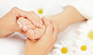 The Healing Room: 45- or 60-Minute Reflexology Session with Aromatherapy at The Healing Room (Up to 57% Off)