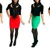 FreshLook Stretch-Knit Mini Skirt