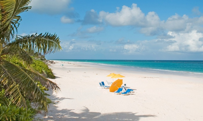 Flamingo Bay Hotel and Marina Stay with Airfare from Vacation Express - Freeport, Grand Bahama: ✈ 4-Night Flamingo Bay Bahamas Trip with Airfare. Includes Taxes. Price/Person Based on Double Occupancy.