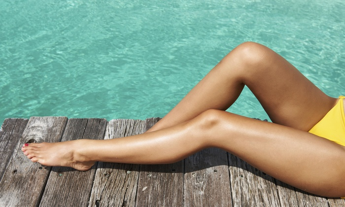 B_Golden Tan - Multiple Locations: Three Weeks of Unlimited Tanning at B_Golden Tan (50% Off)