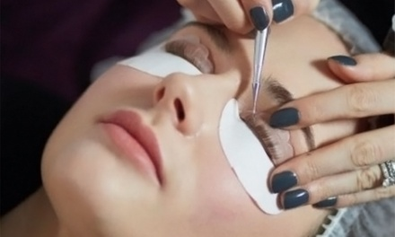 LVL Lashes and Tint with Eyebrow Wax and Tint Package at Bliss Beauty Spa