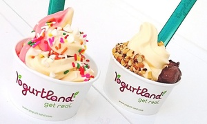 Yogurtland: $17 for Four Groupons, Each Good for $6 Worth of Frozen Yogurt at Yogurtland ($24 Value)