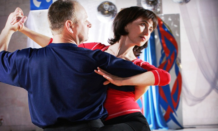 American Ballroom and Latin Dance Studio - Lake Park: One-Month Dance-Class Package for One or Two at American Ballroom and Latin Dance Studio in Shrewsbury (Up to 71% Off)