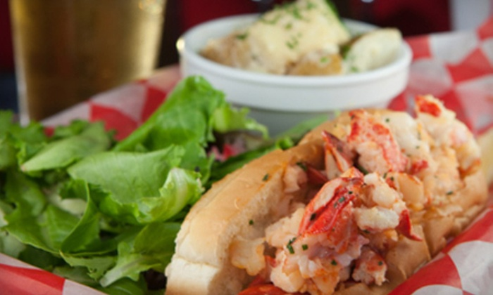 Freddy's Lobster & Clams - Bethesda: New England–Style Seafood or Craft Beer Tastings at Freddy's Lobster & Clams (Up to 58% Off). Four Options Available.
