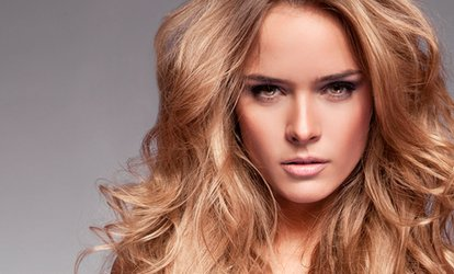 image for Cut and Blow-Dry and Optional Half Head Highlights at Hair by Benjamin Charles (Up to 73% Off)