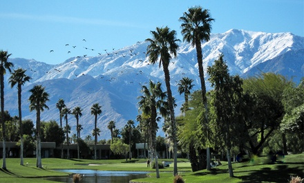 groupon daily deal - 2- or 3-Night Stay for Up to Six in a Two- or Three-Bedroom Condo at Desert Princess Country Club in Cathedral City, CA