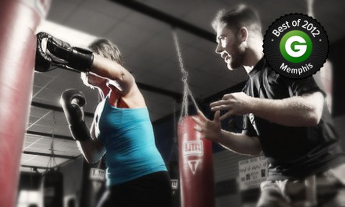 Memphis Fitness Kickboxing - Bartlett - Cordova: $19 for One Month of Unlimited Kickboxing Classes at Memphis Fitness Kickboxing ($69 Value)