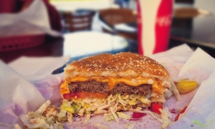 MVP's Grill & Patio - Multiple Locations: Classic Burgers at MVP's Grill & Patio (50% Off). Two Options Available.