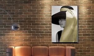 "24""x36"" Audrey Hepburn In Breakfast At Tiffany"