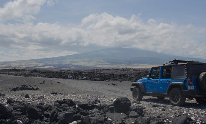Epic Tours - Honolulu: Kona Big Island Jeep Adventure Tour for Two or Four from Epic Tours (50% Off)