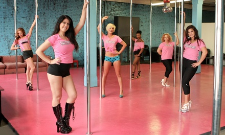 One, Three, or Six Months of Pole-Dance and Fitness Classes with Bed Tanning at Pole Worx (Up to 60% Off)
