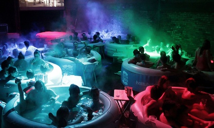 Hot Tub Cinema: Two Tickets to a Choice of Movie such as The Lion King or Bridesmaids (Up to 35% Off)