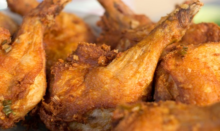 $14 for Two Groupons, Each Good for $10 Worth of Takeout at Ward's Soul Food Kitchen ($20 Total Value)