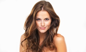 Vital Touch Spa Salon: Haircut and Style with Optional Partial or Full Highlights at Vital Touch Spa Salon (Up to 52% Off)