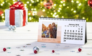 Custom Desk Calendar Groupon Goods