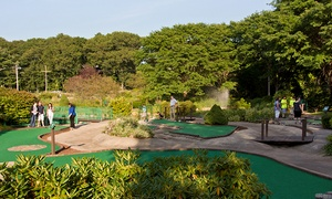 Putts and More: Mini Golf for Two or Four with Optional Hot Dogs and Ice Cream or Slushies at Putts and More (Up to 41% Off)