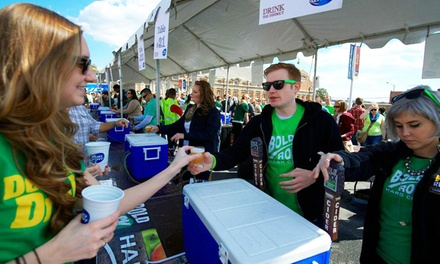 General Admission with Unlimited Beer Tastings at Cloverfest on March 14 (Up to 39% Off). Two Options Available.