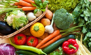 Spring Creek farms: Produce Subscription from Spring Creek Farms at OSU-OKC Farmer's Market (Up to 32% Off). Two Options Available.