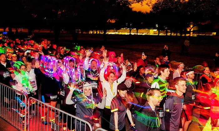 Firefly Run Rahway NJ - City Hall Plaza: Firefly Run 5K Entry for One or Two at City Hall Plaza on May 21 at 5:30 p.m. (Up to 50% Off)