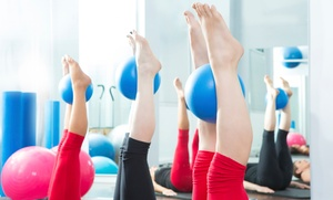 Pilates Sports and Fitness: One Month or 10 Single-Session Fitness Classes at Pilates Sports and Fitness (Up to 59% Off)