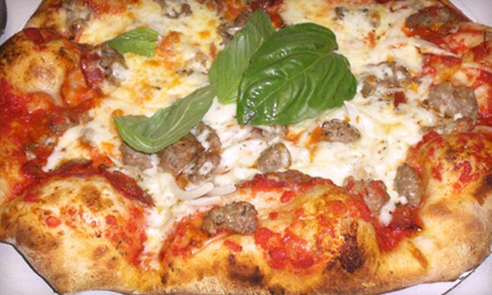 Transfer Pizzeria & Cafe - Clock Tower Acres: $20 for $40 Worth of Pizza and Italian Food at Transfer Pizzeria & Cafe
