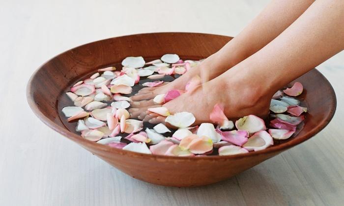 Dashing Nails - Greenwich Village: Marine Spa Manicure or Marine Spa Pedicure at Dashing Nails (Up to 51% Off)