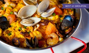 Bocado Tapas Wine Bar: Bocado Experience for Two or Four with Charcuterie, Tapas, Paella, and Dessert at Bocado Tapas Wine Bar (Up to 37% Off)