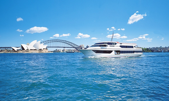 Save up to 70% on Dinner and Entertainment vouchers in Sydney with GROUPON - Check Groupon First. $29 for a Sydney Harbour Cruise and Three-Course Lunch with Fusion Cruises (Up to $55 Value). Themed Cruise with Buffet and Drink in October - December ($45) or January - February ($39) with Sydney Pearl Cruises. Murder Mystery Party for 20 ($), 30 ($) or 40 People ($) with .