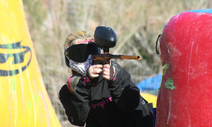 Cowtown Paintball - Peoria: All-Day Paintball Package for Two or Four with Equipment Rental and Paintballs (Up to 41% Off)