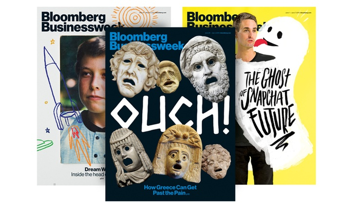 "Bloomberg Businessweek: One- or Two-Year Subscription to ""Bloomberg Businessweek"" with iPad and iPhone Access ( 53% Off )"