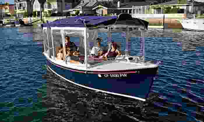 Huntington Harbor Boat Rentals - Huntington harbor boat rentals: Two or Five Hours of Electric-Boat Rental from Fuze Sports in Sunset Beach (Up to 64% Off)