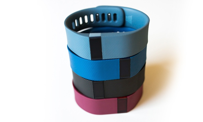Fitbit Charge Fitness-Tracker Wristband (Refurbished)