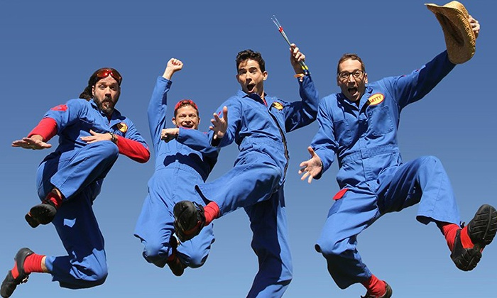Imagination Movers - Downtown: Imagination Movers on Saturday, October 10, at 2 p.m.