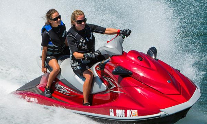 American WaterSports- South Beach - Miami Beach: Up to 50% Off Jet Skiing at American WaterSports- South Beach